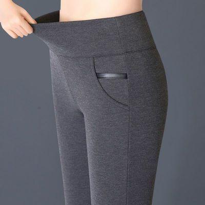 【大码200斤】新款春夏裤子高腰外穿打底裤胖MM女弹力铅笔休闲裤