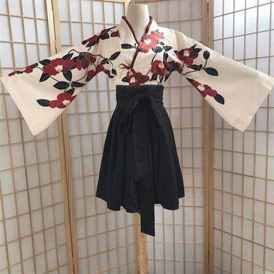 新款汉服女学生汉元素齐腰半裙日常广袖中国风川黛虞美人东方复古