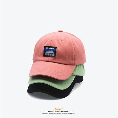 【ODDEST】棒球帽Straw Berry男女春夏ins时尚鸭舌帽新款软顶帽