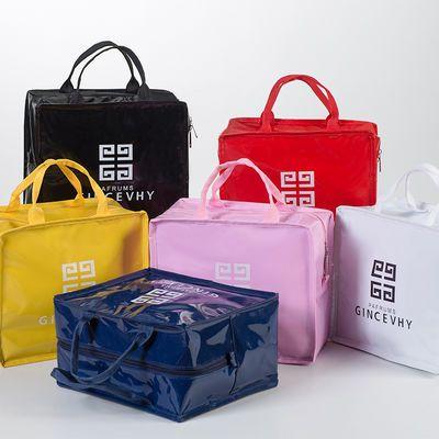多功能化妆品收纳包旅行防水便携大容量手提包韩版学生洗漱用品包