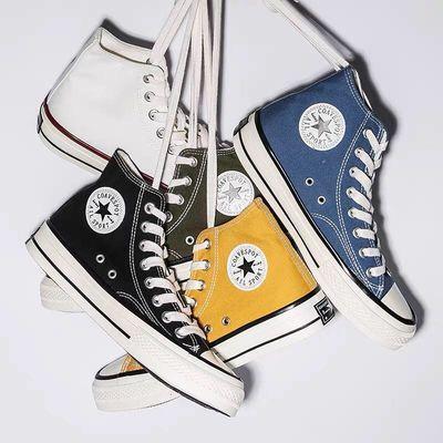1970s三星标经典款帆布鞋高帮低帮ins男女情侣布鞋潮流纪念款