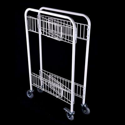 新款带扶手促销花车货架甩货微商地推户外摆摊静音移动超市售货展