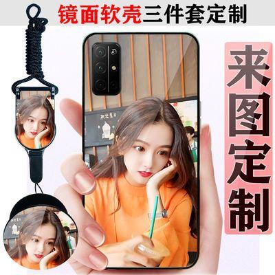 荣耀30S/V30/9A/v20/8X手机壳来图定制华为nova4/P30/P40手机套软