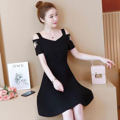 【五款可选】2020春夏连衣裙大码遮肚韩版胖妹妹修身显年轻妈妈装
