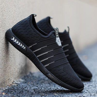 2020春夏男士老北京布鞋男鞋潮流超轻父亲鞋男网鞋运动老爸透气鞋