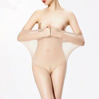 加长大码薄款丝袜女防勾丝加档连裤袜全透明性感打底裤女光腿神器