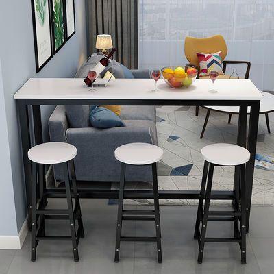新品靠墙吧台桌 家用隔断 阳台餐厅客厅窄桌子 奶茶店细长条桌高