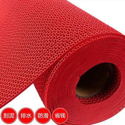 网红PVC镂空进门入户门口脚垫家用厨房卫生间地垫浴室防滑垫可裁