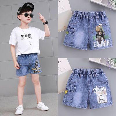 男童短裤牛仔裤潮中大童小男孩裤子宽松版2020夏季新款儿童五分裤