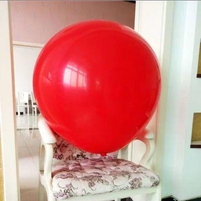 超大号36寸气球批发特大地爆球婚礼汽球儿童生日布置网红酒吧派对
