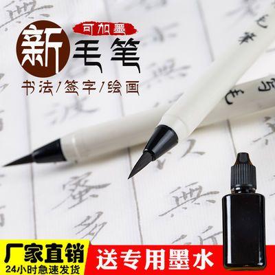 网红小楷软笔钢笔式毛笔书法套装初学者古风秀丽笔软头笔自来水笔