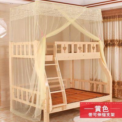 新款加密蚊帐子母床一体上下铺1.2米儿童床高低双层床1.5米家用公