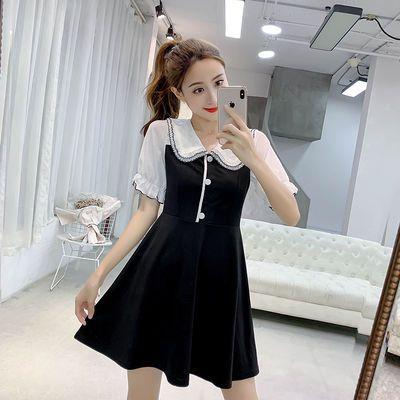 2020新款秋冬装大码胖mm连衣裙时尚修身女装18-19-20-24-25到30岁