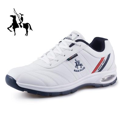 保罗新款春季防水男鞋运动鞋防臭休闲品牌跑步鞋气垫鞋防滑旅游鞋