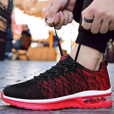 【真气垫飞织】夏季运动鞋男鞋透气休闲防滑防臭百搭学生跑步鞋子