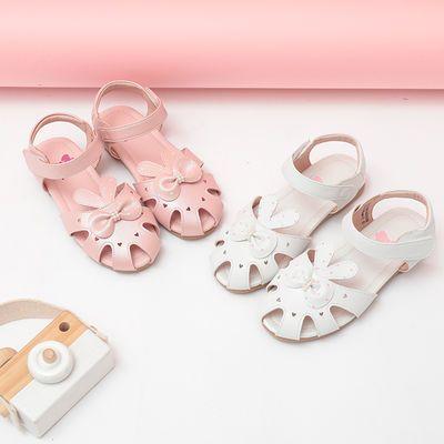 小女孩凉鞋2020新款小学生儿童鞋子女童凉鞋夏季中大童软底公主鞋