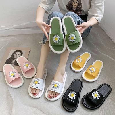 拖鞋女夏2020新款小雏菊软底个性防滑韩版时尚ins海边度假沙滩鞋