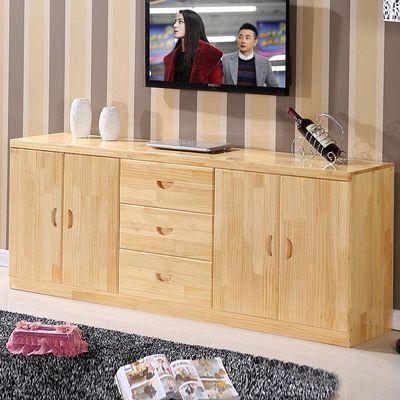 热卖全实木电视柜组合松木电视柜简约储物柜矮柜地柜卧室柜餐边柜