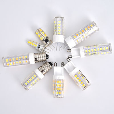 新款G4小灯泡LED插脚低压12V硅胶陶瓷镜前灯卤素灯超亮220V光源G