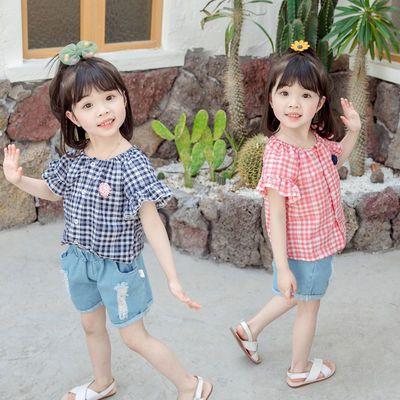 女童套装2020新款1-4岁通知3儿童夏季洋气春装女宝宝衣服网红夏装