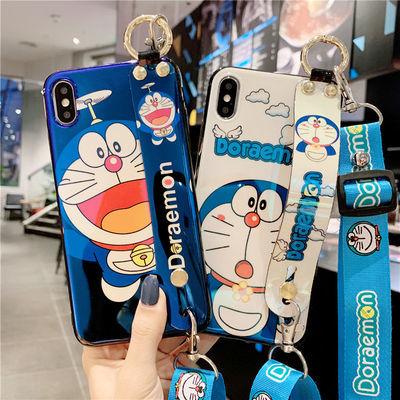 蓝光腕带叮当猫vivoy93手机壳x27x21x9x7x30软s6z6卡通iqoo neo女