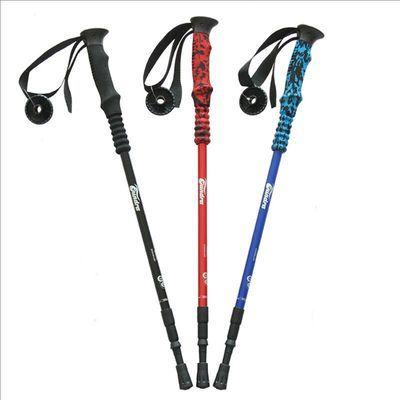 2020Free Walk户外登山杖男女徒步爬山装备 超轻铝合金伸缩拐棍