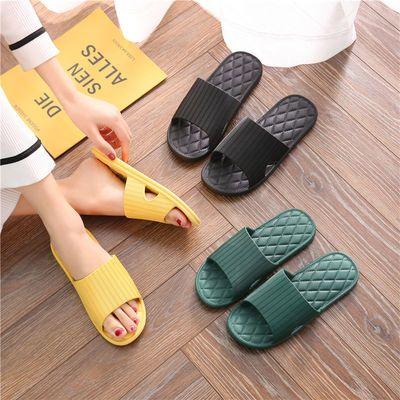 【防滑】PVC拖鞋女夏家用防滑 室内地板情侣拖鞋软底家居凉拖鞋男