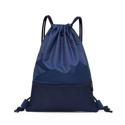 抽绳双肩背包防水轻便折叠包旅行训练运动背包篮球袋足球包鞋袋
