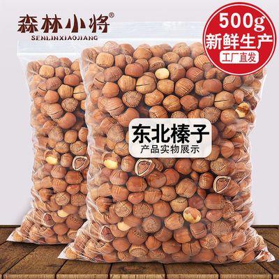 新货东北野生小榛子铁岭特产薄皮原味坚果炒熟干果零食500g/1000g