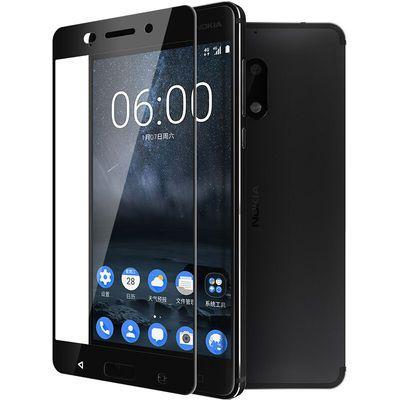 诺基亚6钢化膜全屏覆盖TA-1000手机玻璃膜Nokia6手机钢化膜贴膜
