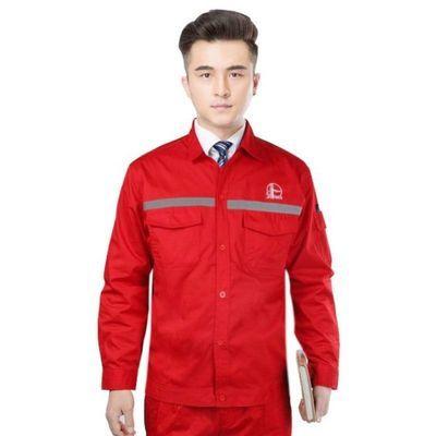 中石油防静电工作服套装男维修工油田加油站工装劳保服夏装套装