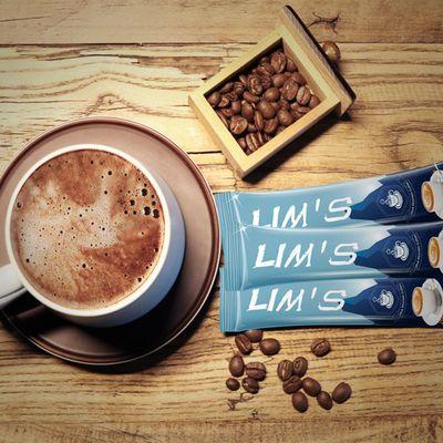 马来西亚进口lims零涩蓝山速溶三合一咖啡粉袋装40条