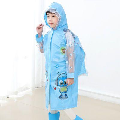 儿童雨衣雨披带书包位小学生幼儿园男女小孩雨具卡通雨披雨衣套装