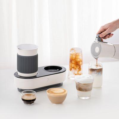 七次方/warmpro咖啡家用迷你花式咖啡机 可打奶泡意式摩卡壶美式