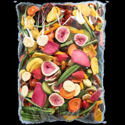 果蔬脆混合果蔬干综合蔬菜干组合水果干无添加低糖健康小零食
