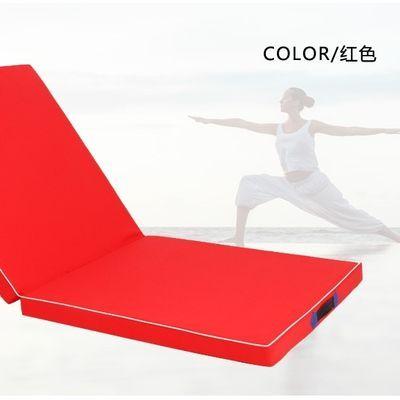 加厚儿童折叠体操垫舞蹈垫健身锻炼瑜伽垫仰卧起坐垫武术空翻垫子