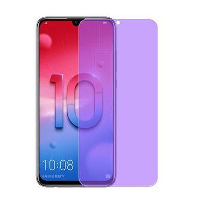 华为荣耀10青春版钢化膜honor10lite保护贴膜手机玻璃防指纹屏幕