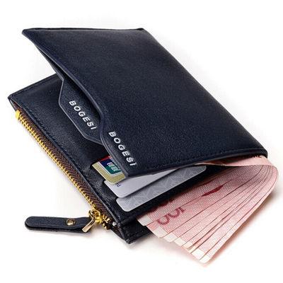 跨境wallet经典钱包男 青年款式外贸男包 零钱袋