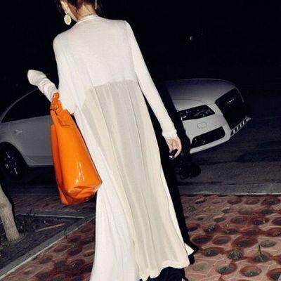 夏季新款防晒衣女韩版中长款薄外套宽松外搭披肩长袖大码空调开衫