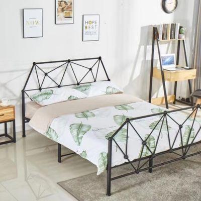 铁艺床双人床架子床公寓床网红床儿童床环保无味