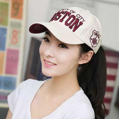 帽子女韩版春季潮新款棒球帽女士夏天百搭学生情侣鸭舌帽男遮阳帽