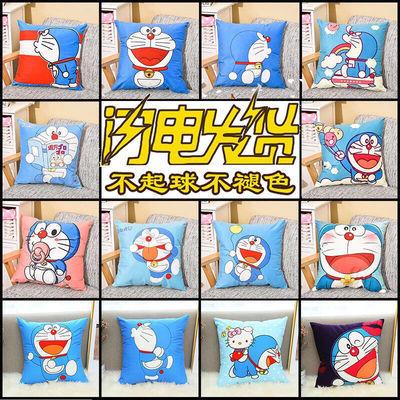 卡通动漫哆啦A梦机器猫叮当猫抱枕床头靠枕护腰枕头儿童礼物