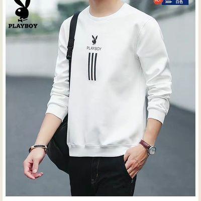 VIP春秋男装新款套头卫衣男青年韩版宽松上衣男长袖t恤
