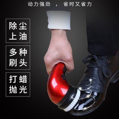 多功能电动鞋刷子手持电动擦鞋器擦鞋机家用皮鞋刷子自动刷皮鞋机