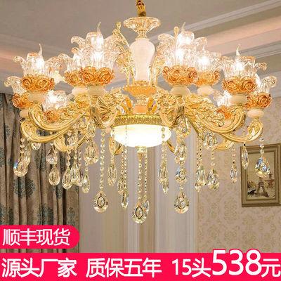 欧式吊灯客厅灯具水晶灯奢华大气餐厅灯现代简约卧室吊灯LED灯饰