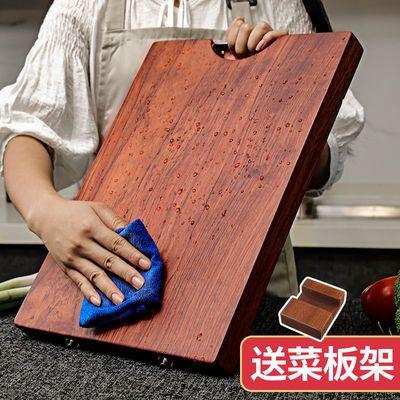 泰南老进口乌檀木菜板整木砧板防霉抗菌厨房实木切菜板案板刀占板