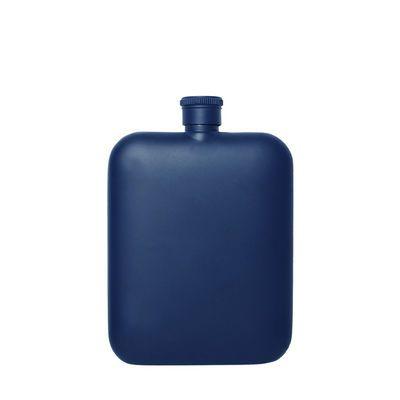 6盎司口袋小酒壶高档尊贵礼品酒壶伴郎伴手礼酒壶黑色不锈钢酒壶