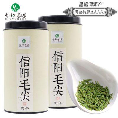 秀韵茗茶2020新茶信阳毛尖明前特级春茶绿茶叶正宗原产地250克