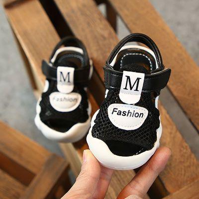 夏季0-1-3岁宝宝网鞋2男童软底透气学步鞋女宝宝防滑凉鞋婴儿凉鞋