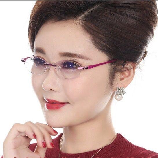 【时尚优雅】老花镜女超轻舒适防疲劳防辐射高清老人老光老花眼镜